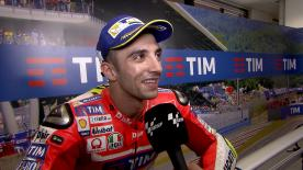 Iannone claimed third place on the starting grid for the Italian GP after setting a fast past throughout free practice.