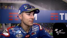 Maverick Viñales claims 2nd place on the grid for the Italian GP, behind his future 2017 teammate Valentino Rossi.
