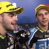 Fenati y Migno lideran la parrilla de Moto3™