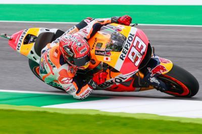 Márquez: «En la última vuelta he cometido un error»