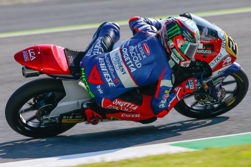 Niccolò Antonelli, Ongetta-Rivacold, Gran Premio d'Italia TIM