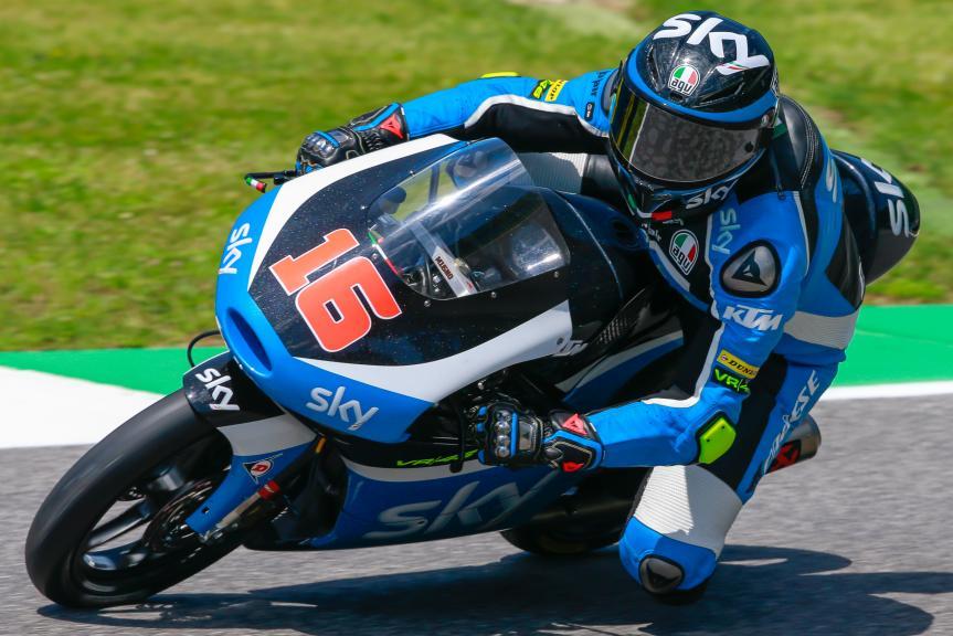 Andrea Migno, SKY Racing Team VR46, Gran Premio d'Italia TIM