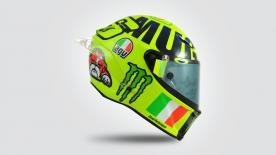 Designer Aldo Drudi describes the thought process behind the latest in a long line of special helmets for Valentino Rossi at Mugello.
