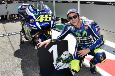 Rossi erobert sensationelle MotoGP™ Pole