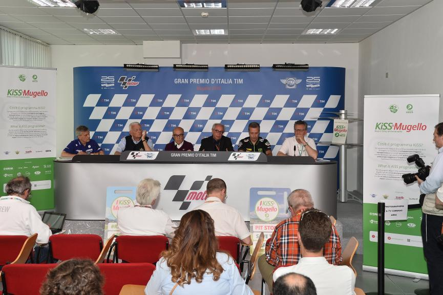 Kiss Mugello Press Conference