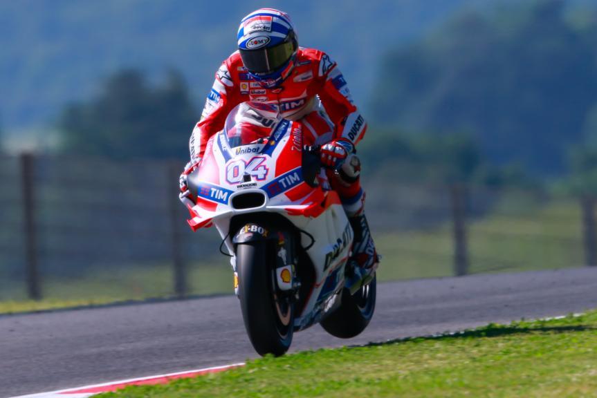 Andrea Dovizioso, Ducati Team, Gran Premio d'Italia TIM