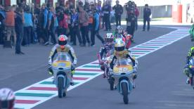 The full Warm Up session for the Moto3™ World Championship at the #ItalianGP.