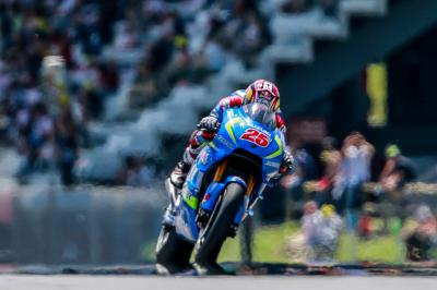 Warm-up MotoGP™ : Viñales en tête, casse moteur pour Lorenzo