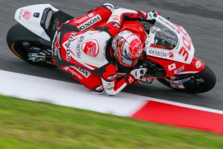 Nakagami, referencia del warm up de Moto2™