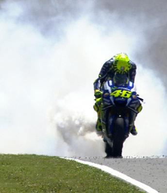 Desaster und Enttäuschung bei Rossi