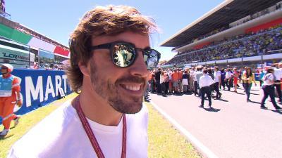 Fernando Alonso: «Son héroes»