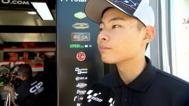 19位でフィニッシュした鈴木竜生が決勝レースを振り返る。