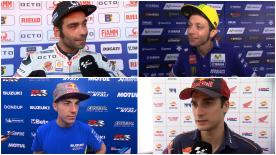 The fastest MotoGP™ riders give us feedback on their race results at the #ItalianGP.