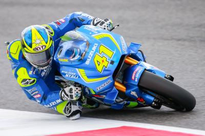 """Aleix Espargaro: """"Con la seconda moto non avevo le..."""