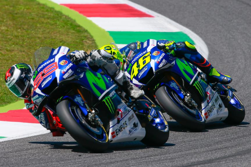 Valentino Rossi, Jorge Lorenzo, Gran Premio d'Italia TIM