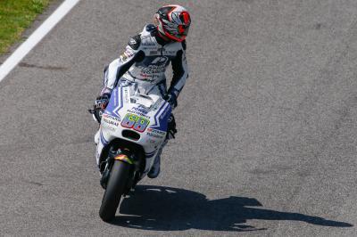 Hernádez: «Se me movió la moto en el momento de la salida»