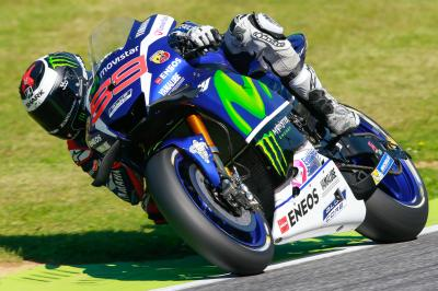 Lorenzo wins last lap thriller as Rossi retires