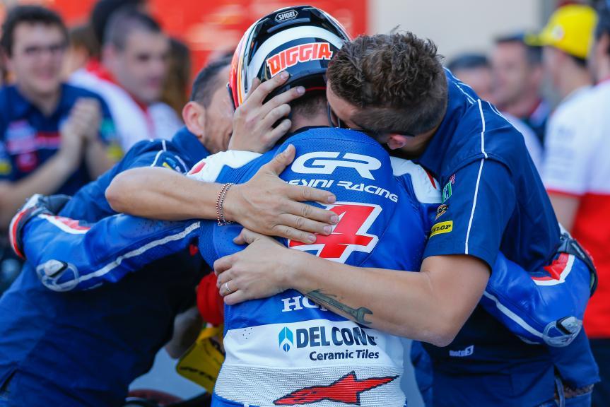Fabio Di Giannantonio, Gresini Racing Moto3, Gran Premio d'Italia TIM