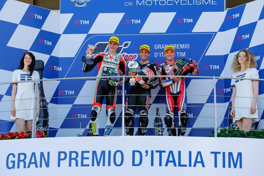 Johann Zarco, Lorenzo Baldassarri, Sam Lowes, Gran Premio d'Italia TIM