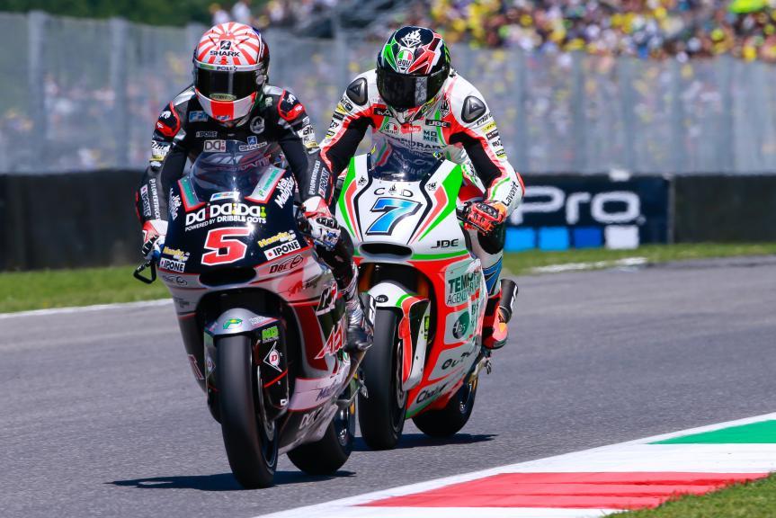 Johann Zarco, Lorenzo Baldassarri, Gran Premio d'Italia TIM