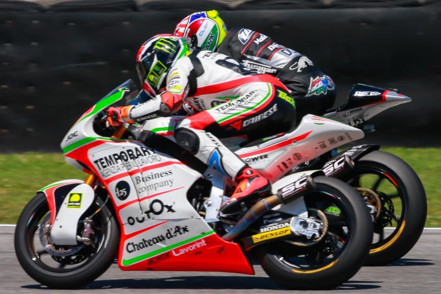 Johann Zarco y Lorenzo Baldassari, Ajo Motorsport y Forward Team, Gran Premio d'Italia TIM