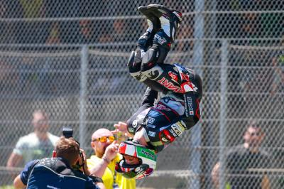 "Zarco: ""The fight with Baldassarri was incredible"""
