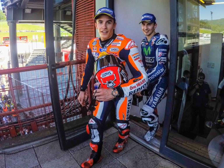 Jorge Lorenzo, Marc Marquez, Gran Premio d'Italia TIM