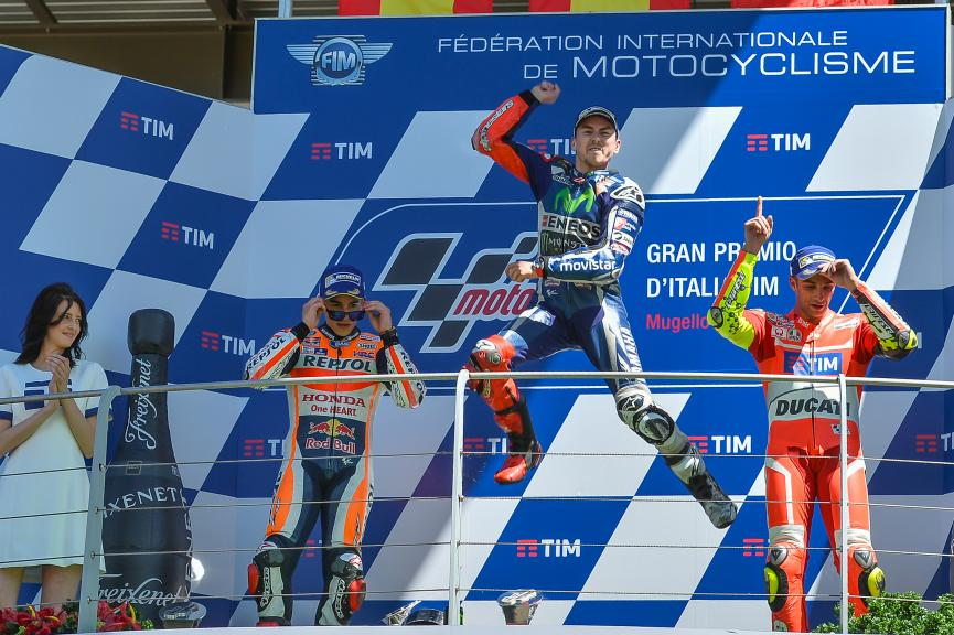 Jorge Lorenzo, Marc Marquez, Andrea Iannone, Gran Premio d'Italia TIM