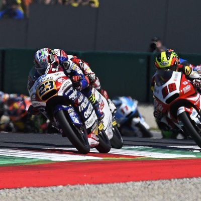 P4 at Mugello! I can be satisfied even if the podium was really close!