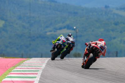 The ups and downs of Mugello