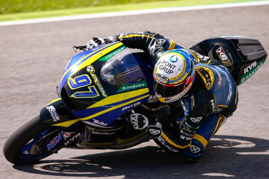 Xavi Vierge, Tech 3 Racing, Test Mugello