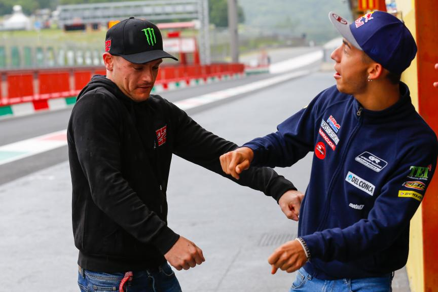 Sam Lowes, Federal Oil Gresini Moto2 y Enea Bastianini, Gresini Racing Moto3, Test Mugello