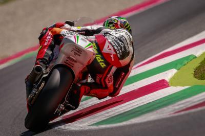 La lluvia afecta al test de Moto2™ en Mugello