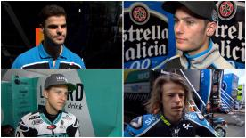 A somewhat difficult day for riders in the Moto3™ class as weather limits their time on track.