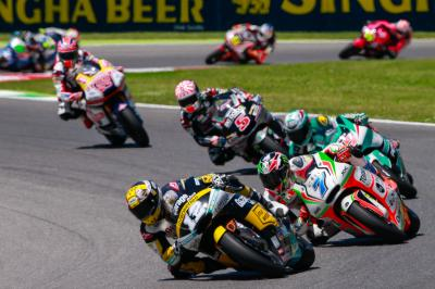 Moto2™ championship brawl arrives in Barcelona