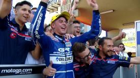 Nach dem Moto3™ Rennen von Italien war ein Name in aller Munde: Fabio Di Giannantonio. Aber wer ist der Rookie?