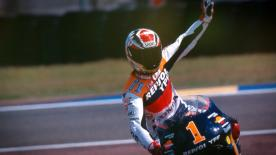 Ahead of the 2016 Catalan GP where Alex Criville will be inducted as a MotoGP™ Legend, relive his amazing journey to the 1999 500cc title.