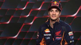 Dani Pedrosa hablaba con motogp.com de su carrera y su futuro antes de celebrarse el GP de Cataluña.
