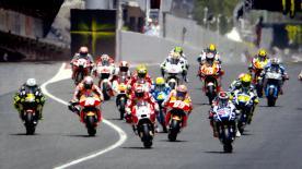 In der Vergangenheit konnten Lorenzo, Marquez und Rossi jeweils einen dramatischen Sieg in Barcelona holen, der sie später zum Titel gebracht hat.