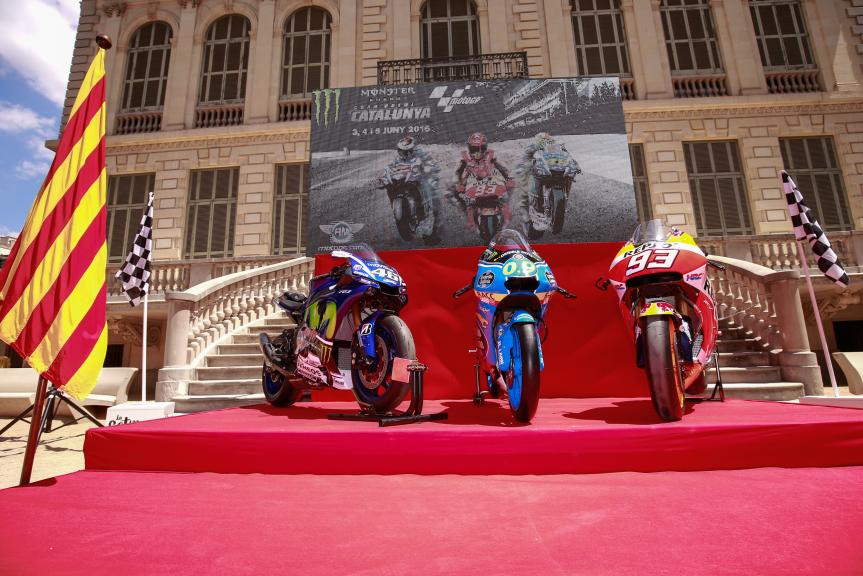 Gran Premi Monster Energy De Catalunya Presentation