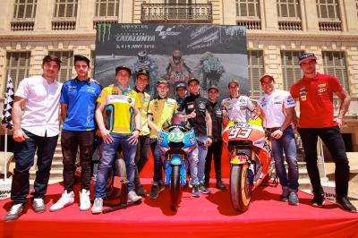 Riders attend official Catalan GP presentation