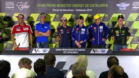 Cosa è stato detto nella conferenza stampa che apre ufficialmente il GP di Catalogna.