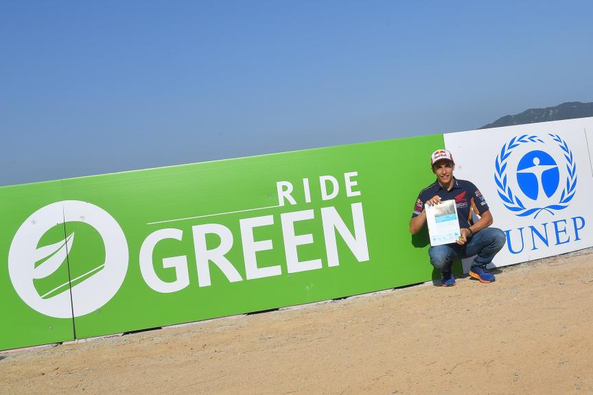 Kiss Bcn, Ride Green Ceremony