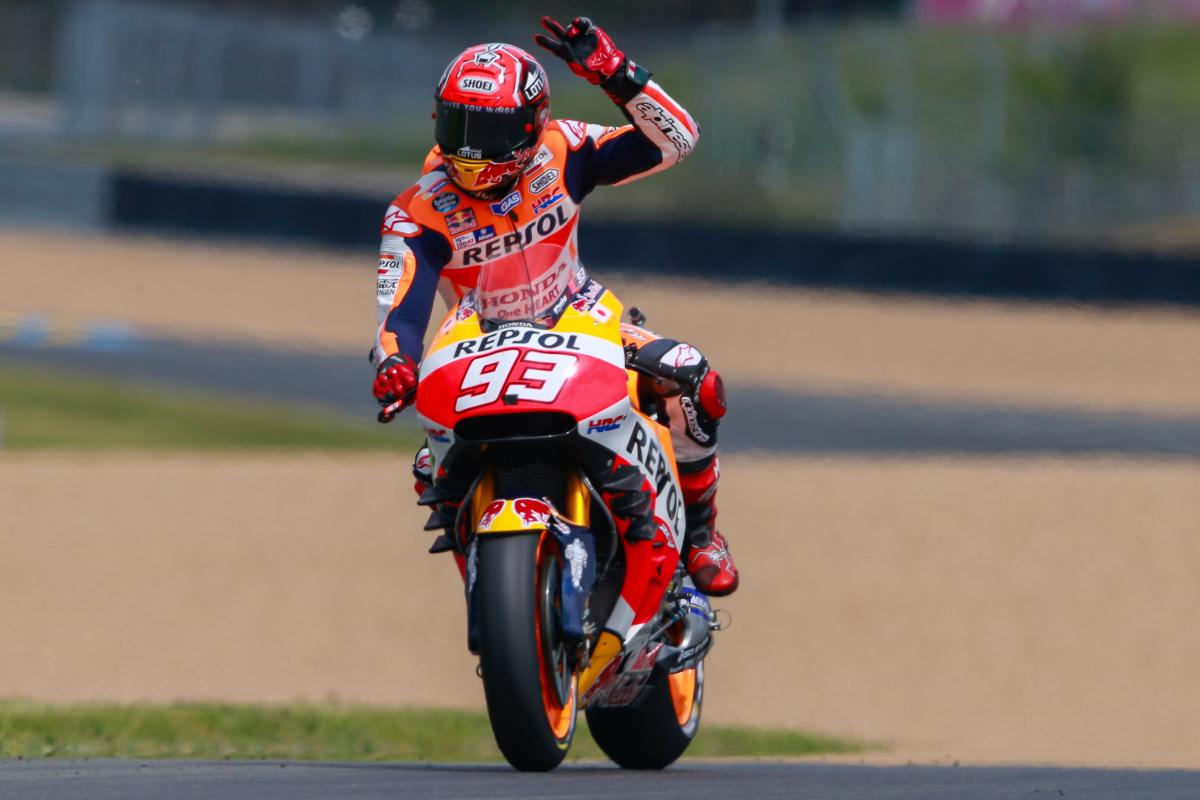 Honda Racing Corporation renew with Marc Marquez through 2018 | MotoGP™