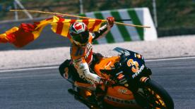 In 1999 Alex Criville became the first Spanish premier class World Champion at the Brazilian GP, inspiring a whole country in the process.