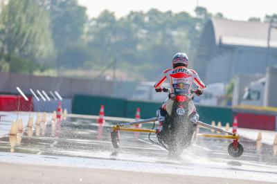 Marquez & Pedrosa demonstrate importance of ABS