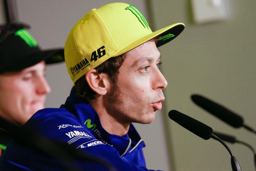 Valentino Rossi, Press conference Gran Premi Monster Energy de Catalunya