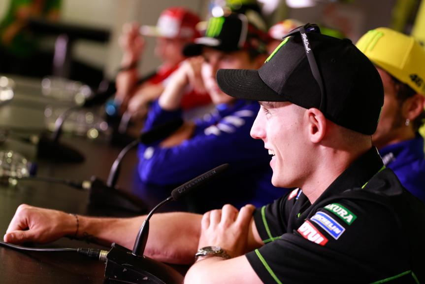 Pol Espargaro, Press conference Gran Premi Monster Energy de Catalunya