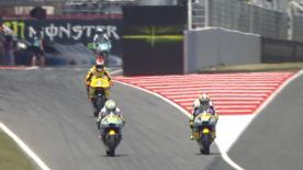 La seconda sessione di prove libere per la Moto2™ sulla pista di Montmeló.