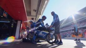 La prima sessione di prove libere per la Moto3™ sulla pista di Montmeló.